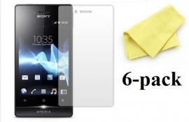 Sony Xperia Miro Skærmbeskyttelse (6 stk.)