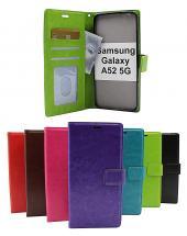 Crazy Horse Wallet Samsung Galaxy A52 / A52 5G / A52s 5G