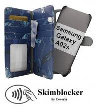 Skimblocker XL Magnet Designwallet Samsung Galaxy A02s