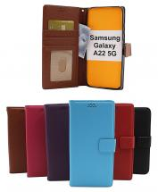 New Standcase Wallet Samsung Galaxy A22 5G (SM-A226B)