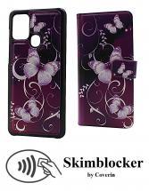Skimblocker Magnet Designwallet Samsung Galaxy A21s (A217F/DS)