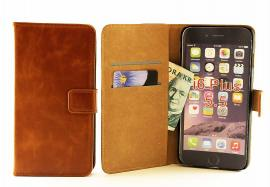 "Crazy Horse Standcase Wallet iPhone 6 Plus (5,5"") Brandy"