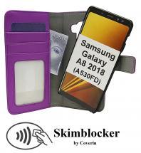Skimblocker Magnet Wallet Samsung Galaxy A8 2018 (A530FD)