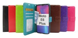 Crazy Horse Wallet Motorola Moto E6 Plus