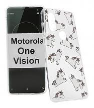 TPU Designcover Motorola One Vision