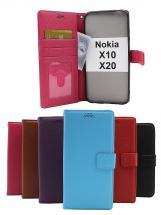 New Standcase Wallet Nokia X10 / Nokia X20