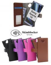 Skimblocker Magnet Wallet Sony Xperia 10