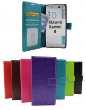 Crazy Horse Wallet Xiaomi Redmi 9