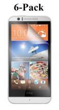 6-Pack Skærmbeskyttelse HTC Desire 510