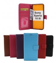 New Standcase Wallet Sony Xperia 10 III (XQ-BT52)