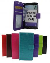 Crazy Horse Wallet iPhone 12 Mini (5.4)
