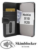 Skimblocker Mobiltaske Nokia X10 / Nokia X20