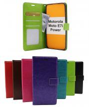 Crazy Horse Wallet Motorola Moto E7i Power