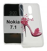 TPU Designcover Nokia 7.1
