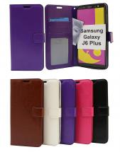 Crazy Horse Wallet Samsung Galaxy J6 Plus (J610FN/DS)