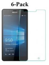 6-Pack Skærmbeskyttelse Microsoft Lumia 950