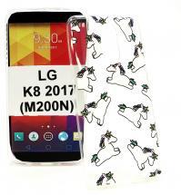 TPU Designcover LG K8 2017 (M200N)
