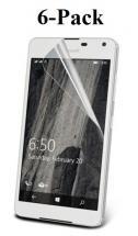 6-Pack Skærmbeskyttelse Microsoft Lumia 650