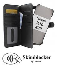 Skimblocker XL Magnet Wallet Nokia X10 / Nokia X20