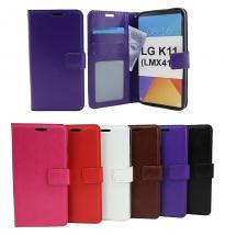 Crazy Horse Wallet LG K11 (LMX410)