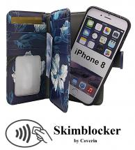Skimblocker XL Magnet Designwallet iPhone 8