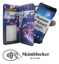 Skimblocker XL Magnet Designwallet Huawei P Smart 2021