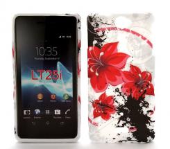 TPU Designcover Sony Xperia V LT25i