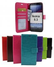 Crazy Horse Wallet Nokia 8.3