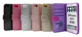 Standcase Glitter Wallet iPhone 6/7/8/SE 2nd Gen.