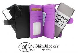 Skimblocker XL Magnet Wallet Samsung Galaxy S21 5G (G991B)