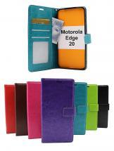 Crazy Horse Wallet Motorola Edge 20