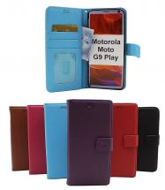 New Standcase Wallet Motorola Moto G9 Play