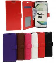 Crazy Horse Wallet Motorola Moto E5 / Moto E (5th gen)
