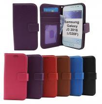 New Standcase Wallet Samsung Galaxy J3 2016 (J320F)