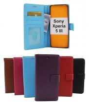 New Standcase Wallet Sony Xperia 5 III (XQ-BQ52)
