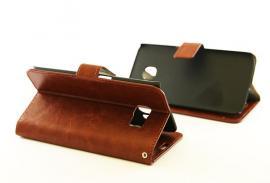 Crazy Horse wallet Samsung Galaxy S6 Edge (G925F) Brun