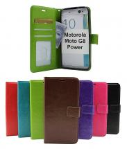 Crazy Horse Wallet Motorola Moto G8 Power