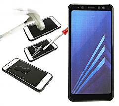 Full Frame Glasbeskyttelse Samsung Galaxy A8 2018 (A530FD)