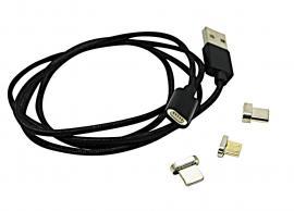 3in1 Magnetisk Oplader Kabel