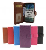 New Standcase Wallet Samsung Galaxy M20 (M205F)