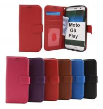 New Standcase Wallet Motorola Moto G6 Play
