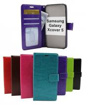 Crazy Horse Wallet Samsung Galaxy Xcover 5 (SM-G525F)