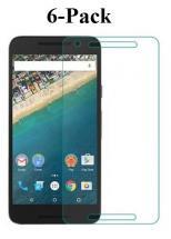 6-Pack Skærmbeskyttelse Google Nexus 5X (H791)