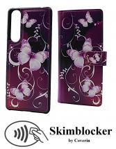 Skimblocker Magnet Designwallet Sony Xperia 1 II (XQ-AT51)