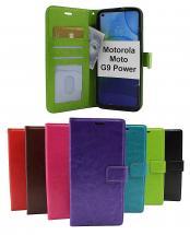 Crazy Horse Wallet Motorola Moto G9 Power