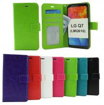 Crazy Horse Wallet LG Q7 / LG Q7 Plus (LMQ610)