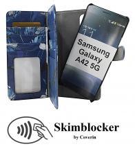 Skimblocker XL Magnet Designwallet Samsung Galaxy A42 5G