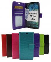 Crazy Horse Wallet Motorola Moto E6s