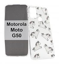 TPU Designcover Motorola Moto G50