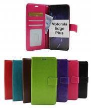 Crazy Horse Wallet Motorola Edge Plus